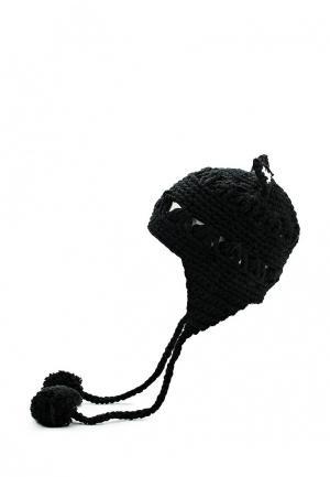 Шапка Kawaii Factory. Цвет: черный