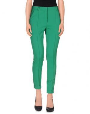 Повседневные брюки GOOD ON HEELS. Цвет: зеленый