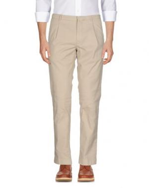Повседневные брюки RE.BELL. Цвет: бежевый