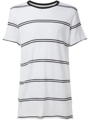 Double stripe T-shirt Amiri. Цвет: белый