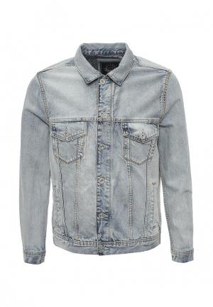 Куртка джинсовая Celio. Цвет: голубой