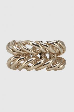 Металлический браслет Vionnet. Цвет: золотой