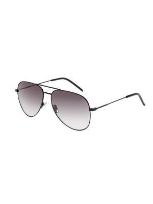 Солнцезащитные очки Saint Laurent. Цвет: фиолетовый, черный