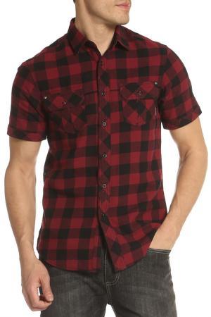Рубашка DISSIDENT. Цвет: красный