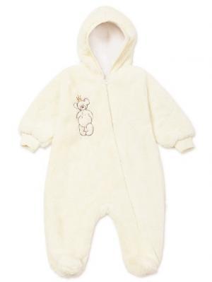 Плюшевый комбинезон Baby Bear MilkyMama. Цвет: светло-бежевый