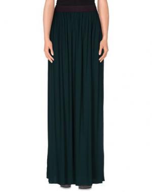 Длинная юбка ..,MERCI. Цвет: зеленый
