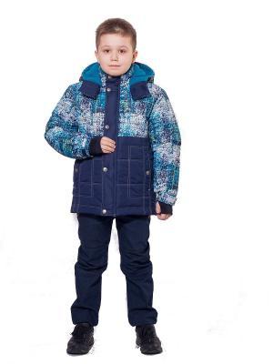 Куртка SAIMA. Цвет: морская волна, синий