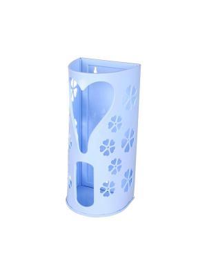 Корзина для пакетов Альтернатива. Цвет: голубой, розовый, белый