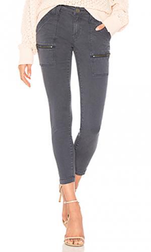 Облегающие брюки park Joie. Цвет: синий