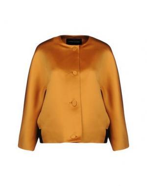 Куртка JONATHAN SAUNDERS. Цвет: охра