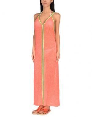 Пляжное платье PITUSA. Цвет: оранжевый