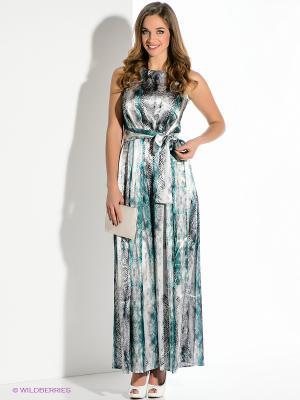 Платье Remix. Цвет: серый, зеленый