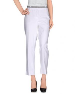 Повседневные брюки SEDUCTIVE. Цвет: белый