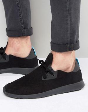 Native Кроссовки в стиле ботинок чукка. Цвет: черный