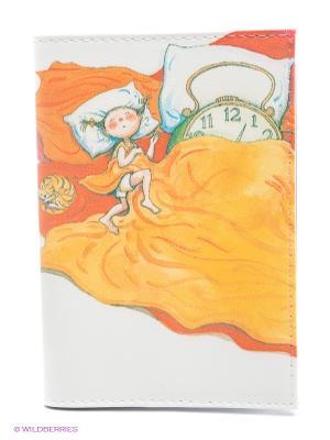 Обложка для автодокументов Сладкие сны Mitya Veselkov. Цвет: белый, красный, желтый