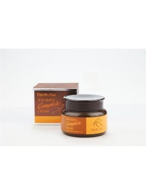 Крем с лошадиным маслом для сухой кожи, 100гр, FarmStay Farm Stay. Цвет: белый