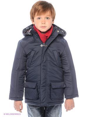 Куртка ЕМАЕ. Цвет: темно-синий