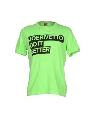 Футболка JOE RIVETTO. Цвет: кислотно-зеленый