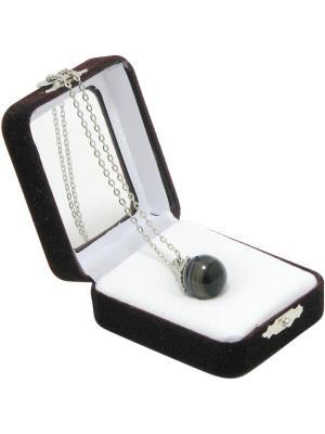 Аромакулон Фантазия, камень - агат Aztek. Цвет: черный