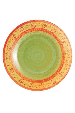 Тарелка десертная 19 см Luminarc. Цвет: оранжевый, желтый