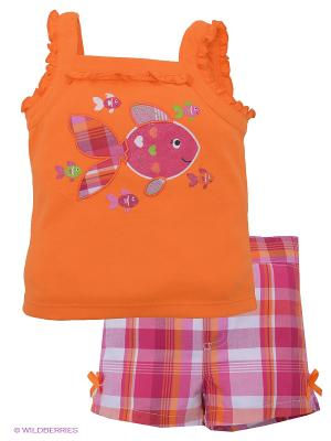 Костюм Baby Headquaters. Цвет: оранжевый, розовый