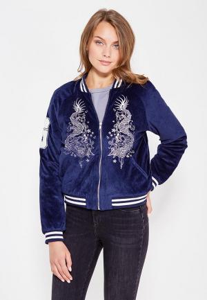 Куртка Jennyfer. Цвет: синий