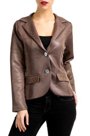 Жакет Isaco & Kawa. Цвет: коричневый