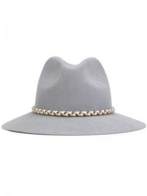 Шляпа Asema Yosuzi. Цвет: серый
