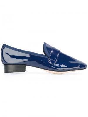 Лоферы с заостренным носком Repetto. Цвет: синий