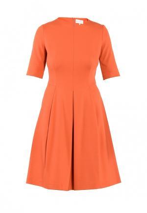 Платье Петербургский стиль. Цвет: оранжевый