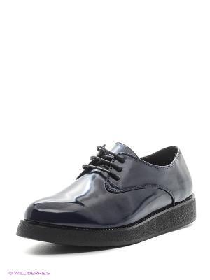 Туфли Aotoria. Цвет: синий