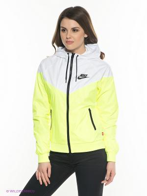 Куртка WINDRUNNER Nike. Цвет: салатовый