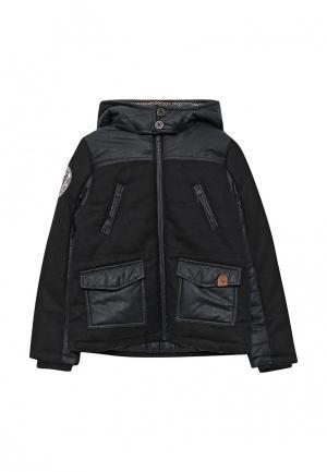 Куртка утепленная Catimini. Цвет: черный