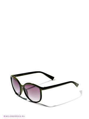 Солнцезащитные очки AJ Morgan. Цвет: оливковый