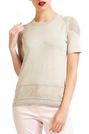 Блуза Isaco & Kawa. Цвет: бежевый