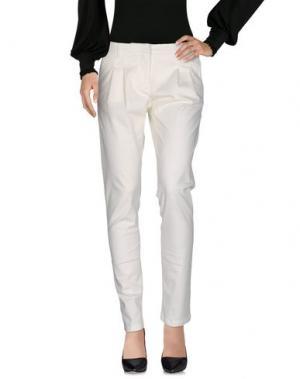 Повседневные брюки BLUE LES COPAINS. Цвет: слоновая кость