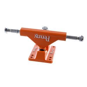 Подвески для скейтборда лонгборда 2шт.  Trucks Orange 4(17 см) Penny. Цвет: зеленый,оранжевый