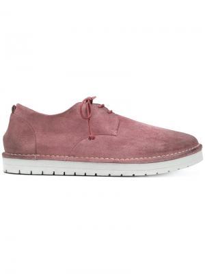 Sancrispa derby shoes Marsèll. Цвет: розовый и фиолетовый