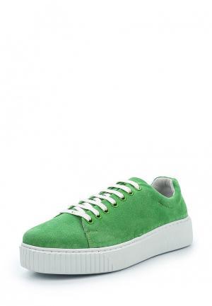 Кеды La Grandezza. Цвет: зеленый