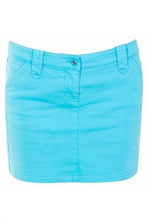 Юбка Armani Jeans. Цвет: бирюзовый