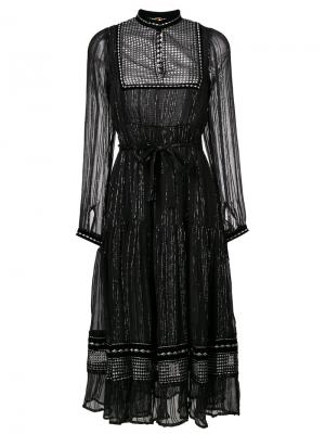 Платье миди с высоким воротом Dodo Bar Or. Цвет: чёрный