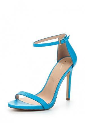 Босоножки Aldo. Цвет: голубой