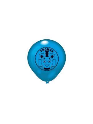 Набор 10 шариков с рисунком Thomas&Friends Everts. Цвет: синий