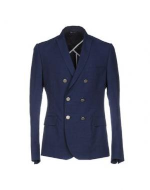Пиджак DANIELE ALESSANDRINI. Цвет: синий