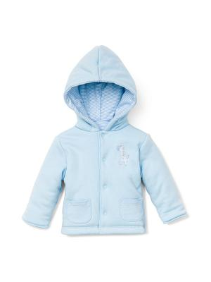 Куртка Little Me. Цвет: голубой
