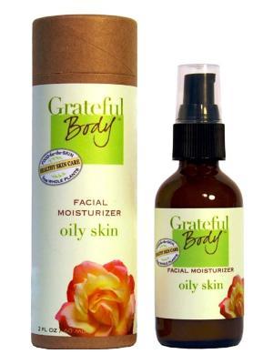 Увлажняющий крем для жирной кожи, 60 мл Grateful Body. Цвет: прозрачный