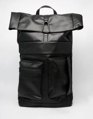 Dark Future Рюкзак из искусственной кожи. Цвет: серый