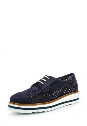 Ботинки La Coleccion. Цвет: синий