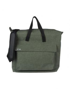 Деловые сумки NAVA. Цвет: зеленый