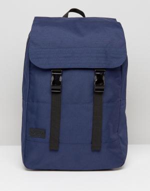 Dead Vintage Парусиновый рюкзак Commuter. Цвет: темно-синий